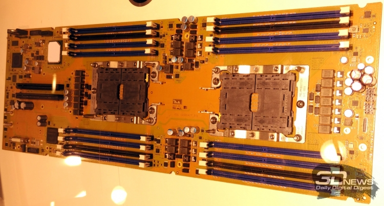 Прототип платформы Atos Bull Sequana для Intel Xeon Skylake