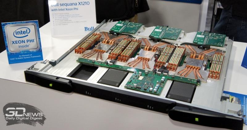 Bull X1210 с Intel Xeon Phi Knights Landing