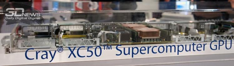 Узел нового Cray CX50 c NVIDIA Tesla