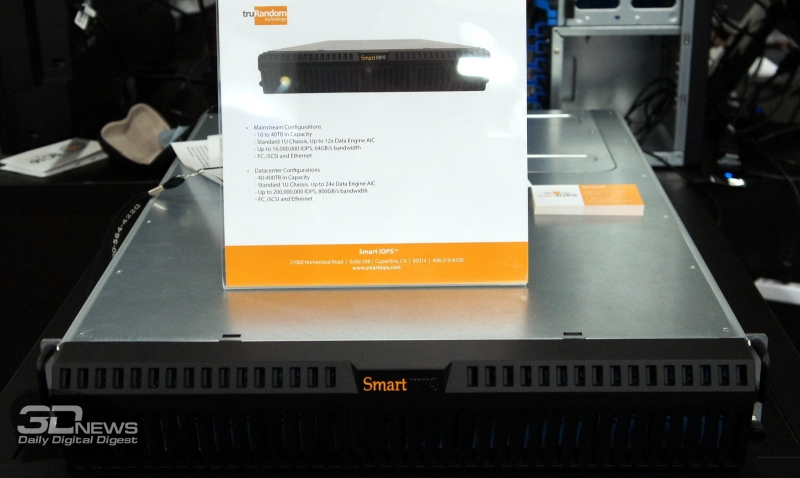 Smart IOPS Shared Flash Appliance